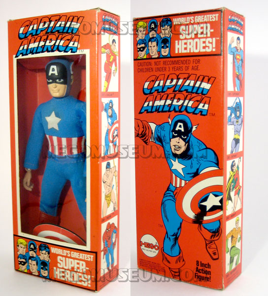Captain America Box Mego
