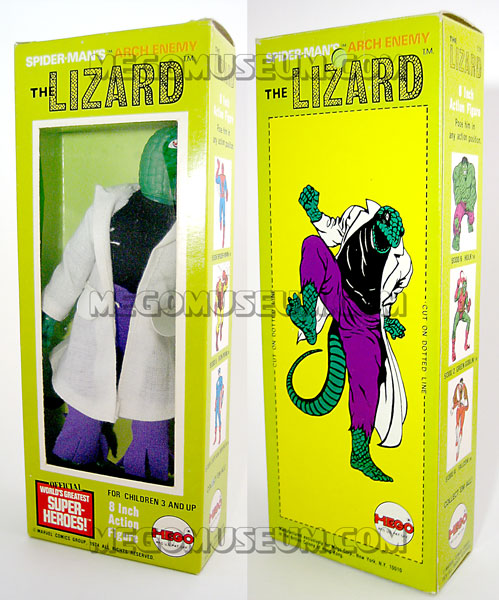 Mego Lizard Spider-Man Foe MIB 1975