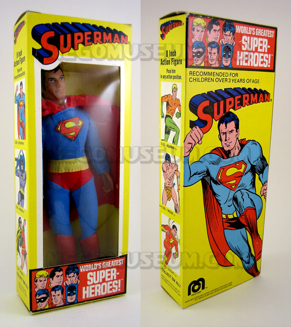 Superman Box 1976 Mego