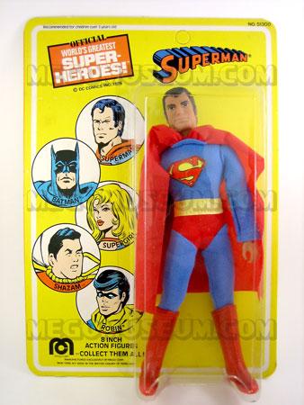 Superman Mego MOC 1976