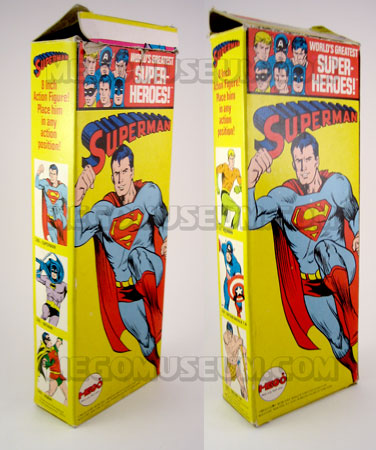 uperman 1973 Solid Box by Mego