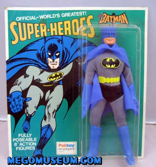 Palitoy (UK) Mego Carded Batman