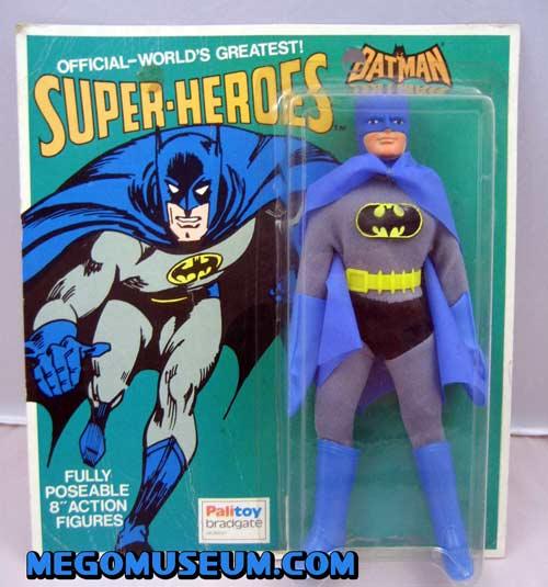 Palitoy (UK) Mego Carded Batman