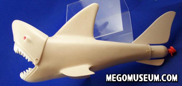 Mego Aquman VS Great White Shark