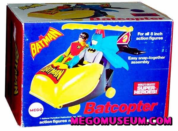 Mego Bat Copter Box