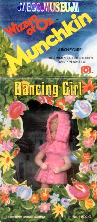 Dancing Girl mint-in-box