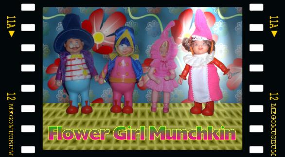 The Munchkin Flower Girl