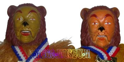 The Cowardly Lion's Head Variants