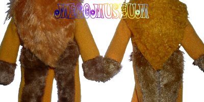 The Cowardly Lion's Suit Variants