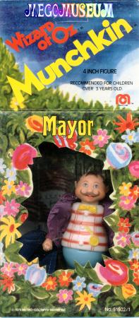 Mayor mint-in-box