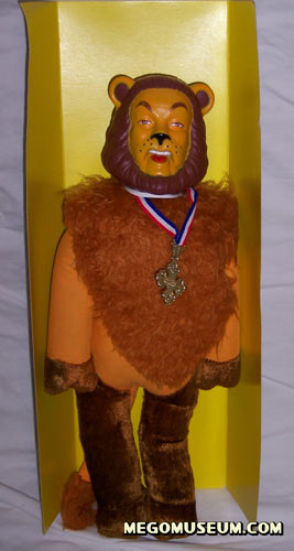 Mego Cowardly Lion plush