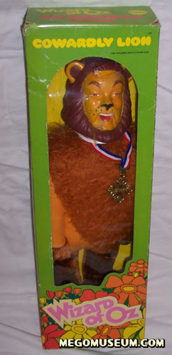 Mego boxed Cowardly Lion