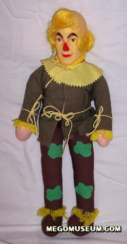 Mego Scarecrow Plush
