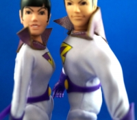 Figures Toy Company Zan, Jayna and Gleek: The Wonder Twin