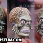 The prototype Head Sculpt for the Heroes in Action Mars Attacks line