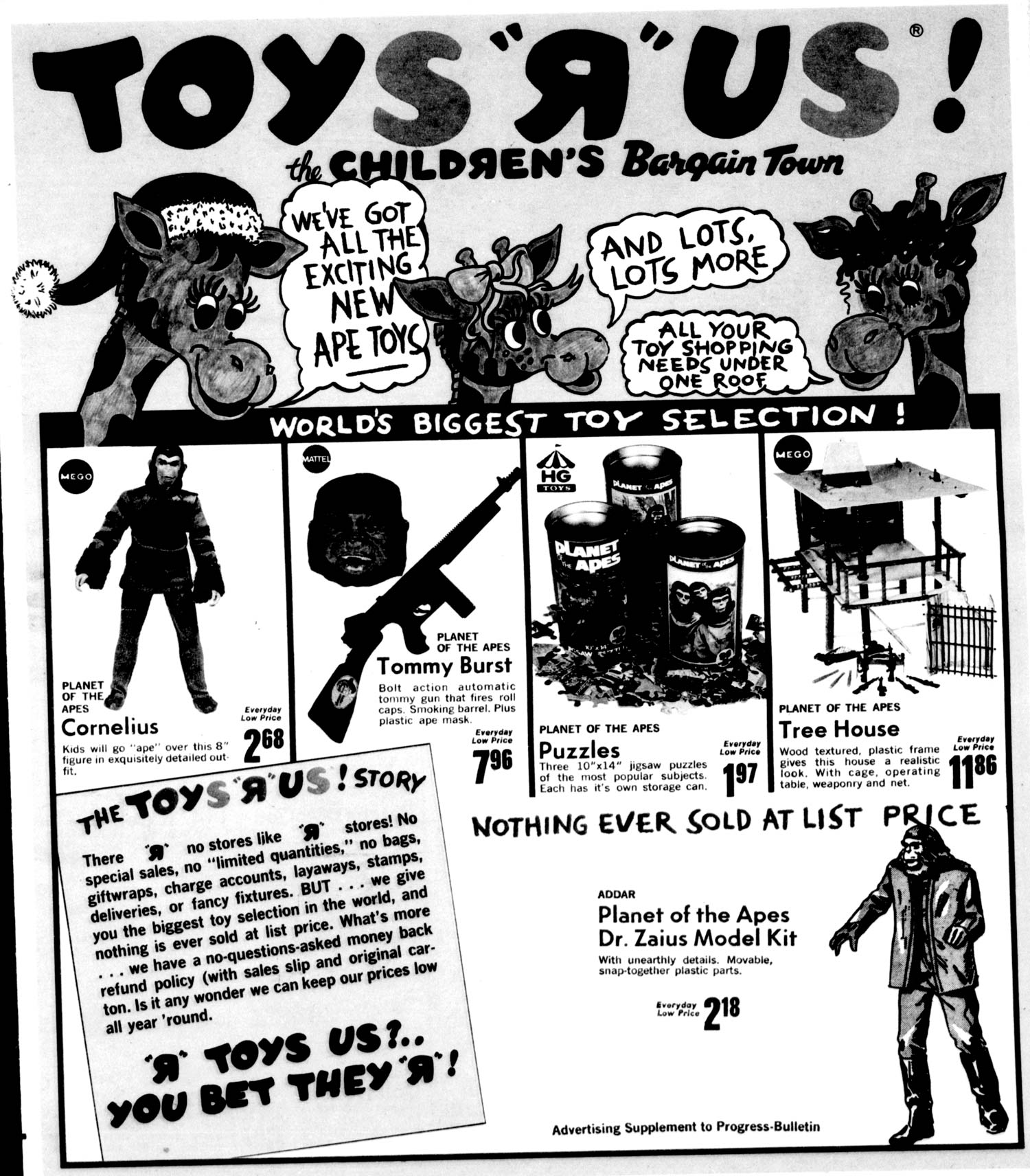 Planet Of The Apes Sale At Toys R Us Mego Museum - Museums for sale in us