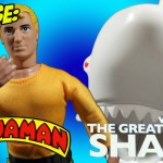 Mego Aquaman Shark set