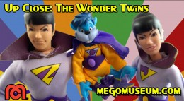 action figure review of the Superfriends Wonder Twins by FTC