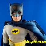 Batman 1966 Removable Cowl Adam West Figure