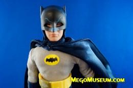 Batman 1966 Removable Cowl Adam West Figure