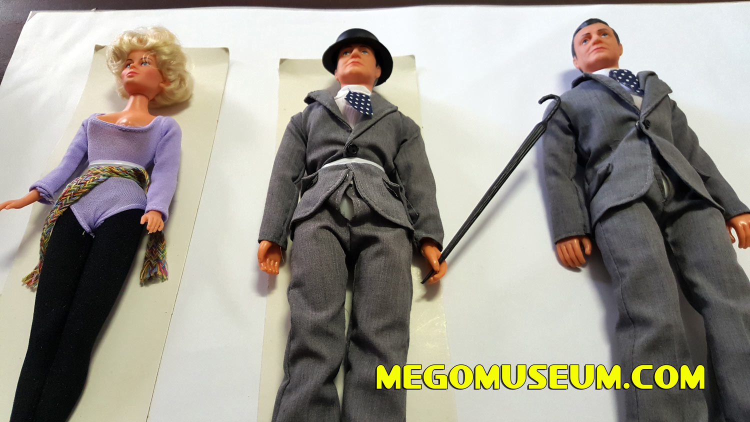 New Avengers John Steed Action Figure by Fun World (South Africa) Mego Museum