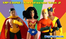 Figures Toy Company Superfriends Wave 2 Mego