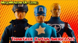 MegoMuseum ThinkGeek Review of the Captain America Set