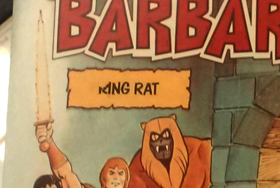 Thundarr King Rat