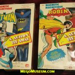 Mego Batman and Robin in Grand Toys packaging.