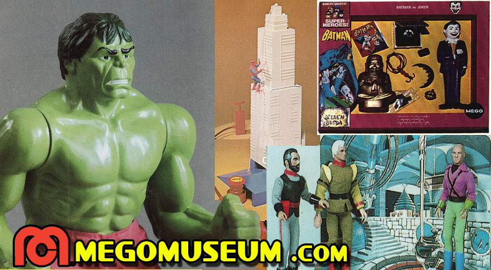 Top Ten Mego Superhero items that never got made