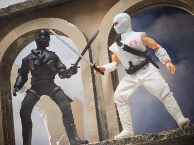 Mego Storm Shadow and Snake Eyes