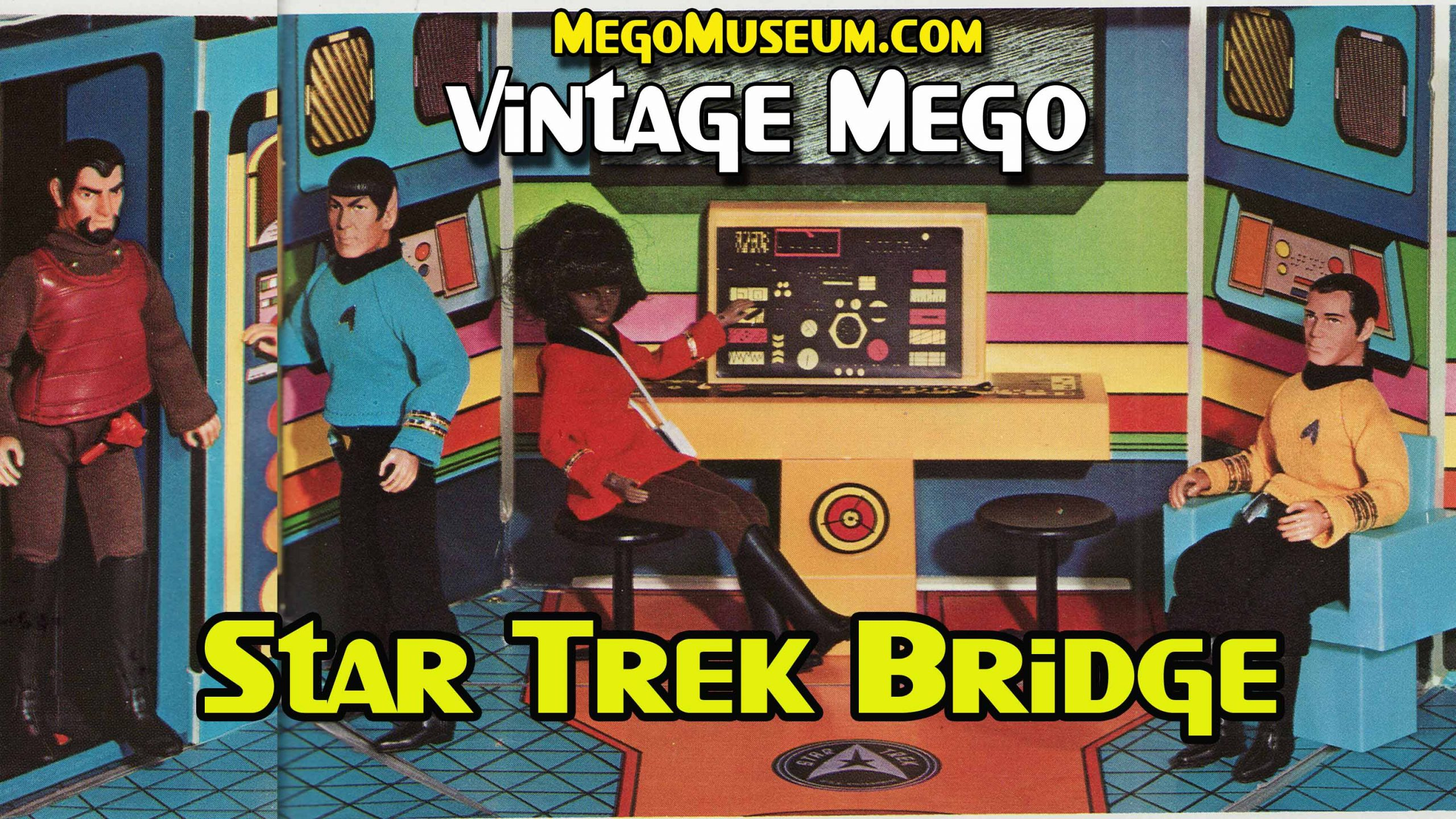 Mego Star Trek Bridge Playset