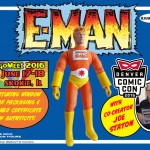 Limited Edition E-Man Action Figure.