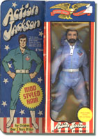 Mego Action Jackson Packaging Mego Museum Action Jackson
