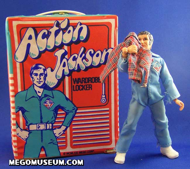 Wardrobe And Foot Locker Action Jackson Gallery Mego Museum