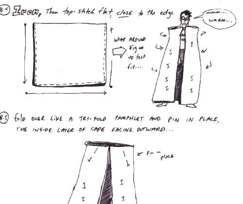 How To Make a Custom Two-Layer Cape