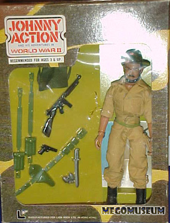 Johnny Action: Lion Rock Heroes of WWII Gallery: Mego Museum