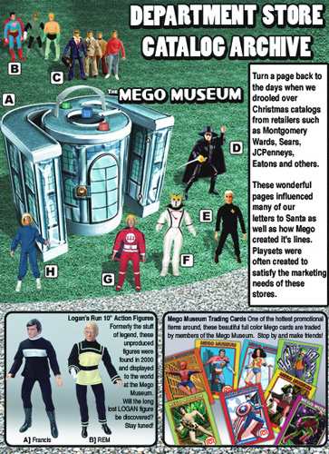 mego library department store christmas catalogs mego toys mego corp