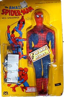 Spider-Man: 12 Inch Super Heroes Gallery: Mego Museum